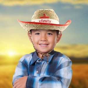 Kid's Cowboy Hats with Imprintable Band