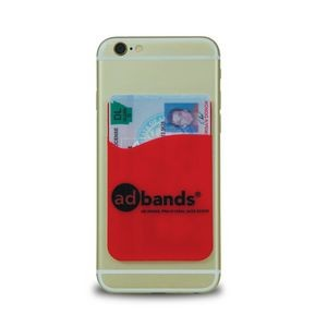 Silicone Phone Wallet - 1 Color