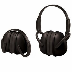239 Black Foldable Ear Muff with Adjustable Band