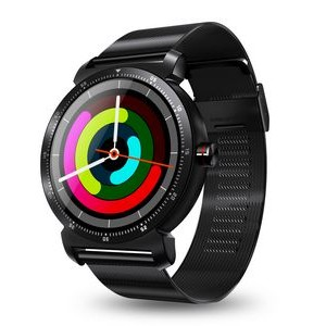 The Chairman Sport Smart Watch Executive Style Metal Band Fully Compatible with Android and IOS.
